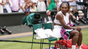 Serena Williams förlorade finalen i Wimbledon för andra året i följd.