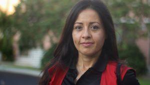 Shirin Namiq ingår i den logistiska delegationen på Bahamas utskickad av Finlands Röda Kors