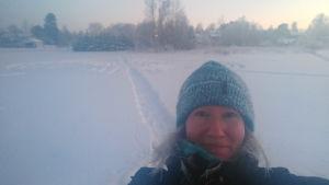 Annika Wiklund-Engblom jobbar som projektledare på Folkhälsan.