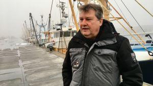 DIrektören för fiskarnas intresseorganisation Emiel Brouckert.