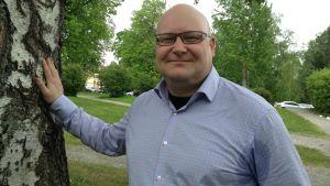 Peter Ehrström i Hovrättsparken.