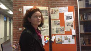 Nina Pilke, professor i svenska på Vasa universitet.