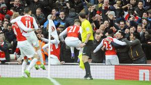 Arsenal firar.