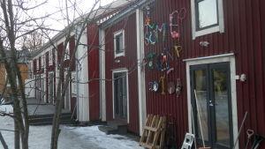 Verkstadsutrymmena vid After Eight i Jakobstad