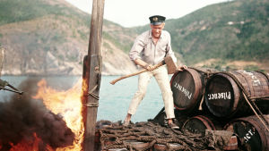 Peter O'Toole elokuvassa Lordi Jim