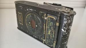 Hilma Granqvists kamera som hon hade med till Palestina på 1920-talet.