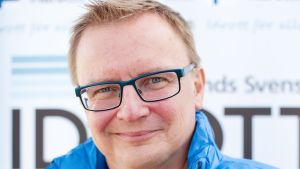 "Jan-Erik ""JEJE"" Eklöf, projektledare för Stafettkarnevalen."