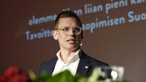 SDPs partisekreterare Antton Rönnholm.