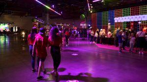 Some-evenemanget Tubecon i Mässcentret i helsingfros i augusti 2018.
