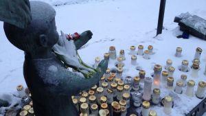 Karelarnas minnesmärke på Sandudd