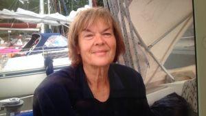 Ett foto på en kvinna som lider av Alzheimers
