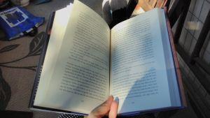 En uppslagen bok.