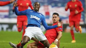 Glen Kamara spelar för Glasgow Rangers.