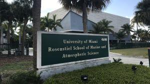 Miamiuniversitetets institut för marin och atmosfärisk vetenskap ligger vid havet.