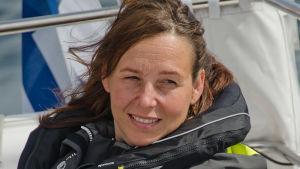 utbildningschef Mirja Rosenberg på organisationen Segling och båtsport i Finland