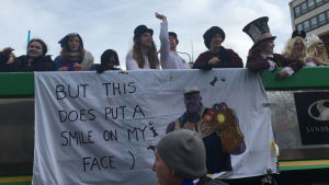 Abiturienter i Vasa firar penkis.