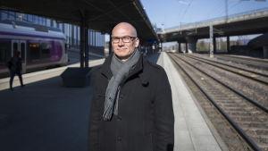 Planeringschef vid VR Juho Hannukainen.