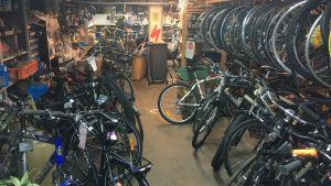 Cykelverkstad på Drumsö