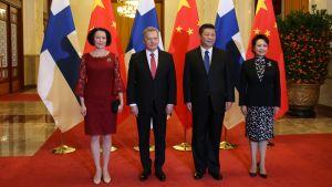 statsbesök i Kina