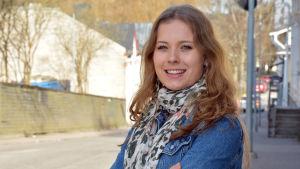 Badmintonspelare Nanna Vainio.