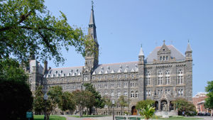 Georgetown University ligger i Washington DC.