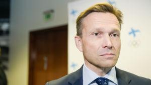 Timo Ritakallio från Finlands Olympiska Kommitté.