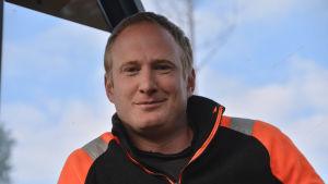 Skogsarbetare Tomas nyström