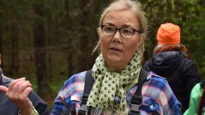 Liisa Rohweder, generalsekreterare för WWF Finland.