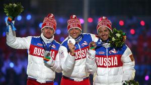 Alexander Legkov, OS i Sotji.