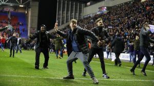 Manchester Citys förlust fick känslorna att svalla.