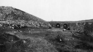 Avrättningsplatsen vid Gustafsvärd på Sveaborg 1918
