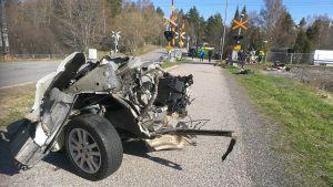 Plankorsningsolycka i Åbo.