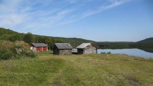 Stugor i Lappland.
