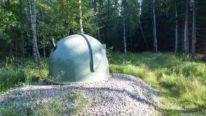 Brunn vid vattentäkten i Ekerö, Horsbäck.