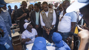 WHO har redan vaccinerat nästan 12 000 människor mot ebola i två drabbade provinser
