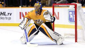 Pekka Rinne var strålande när Nashville fick en liten revansch på Winnipeg.