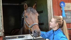 Hästen Obara´s Metaxa med Lida Haddas