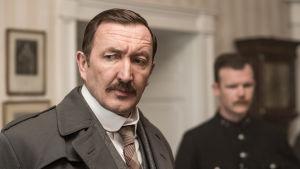 Brittielokuva kirjailija Agatha Christien katoamisesta.