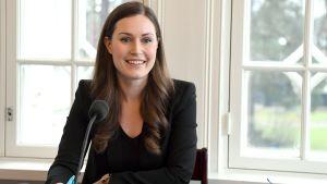 Sanna Marin deltog i Statsministerns frågetimme