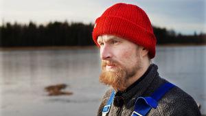 Kalastaja Jukka-Pekka Vironen