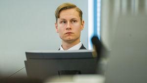 Philip Manshaus i rätten 11.6.