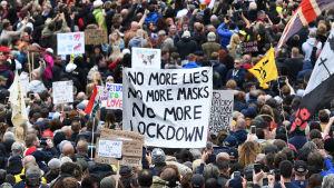 Demonstration i London