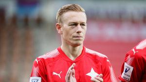 Mikael Forssell avslutade sin karriär 2017 i HIFK.