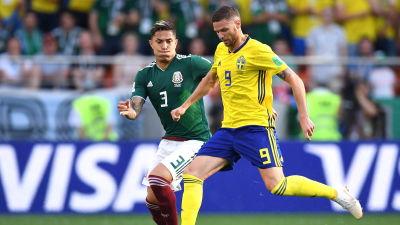 England utklassade mexiko