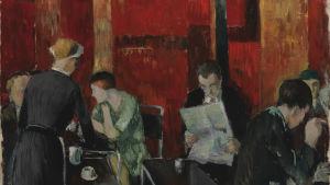 Bild på målningen av Henry Ericsson: Fazers bar (1931)