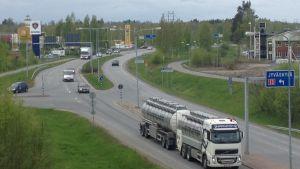 Riksväg 8 i Karleby.