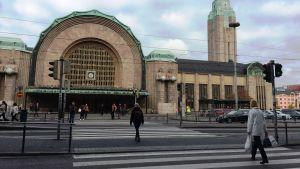 Järnvägsstationen i Helsingfors