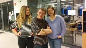 Anne Hietanen, Petter Lindberg, Silja Sahlgren-Fodstad
