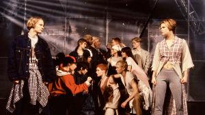 Hype-musikalen på 90-talet. Dansare.