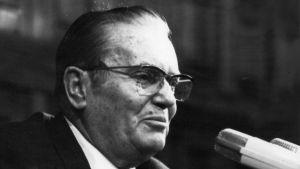 Josip Broz Tito, bilden tagen 1972